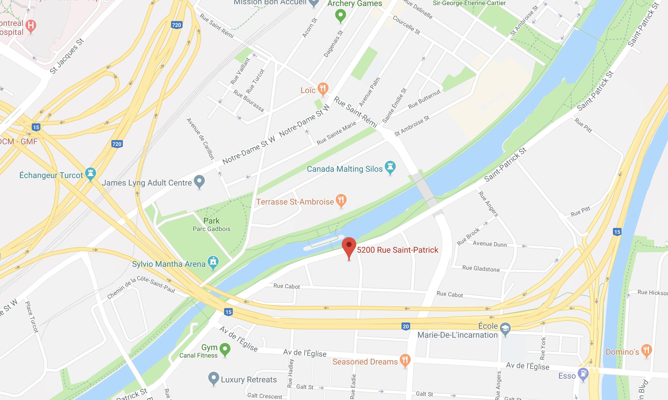 Groupe Quorum 5200 rue Saint-Patrick, bureau 200, Montréal H4E 4N9