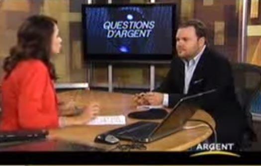 Une discussion avec Maxime Laporte au Canal Argent