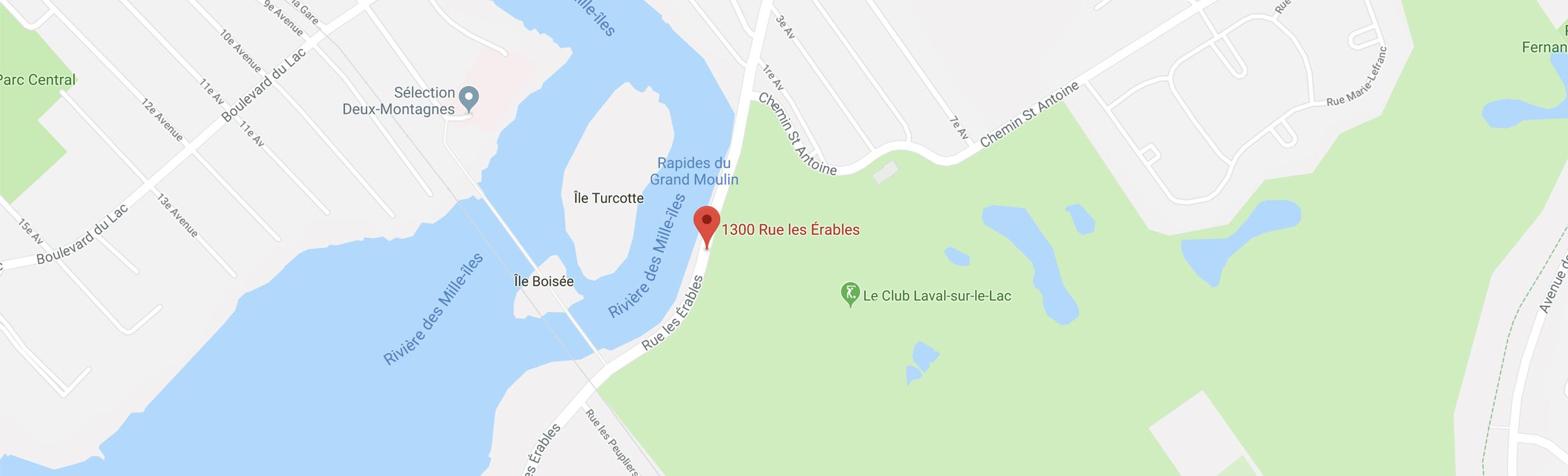 LL sur le Lac : 1300 rue les Érables, Laval-sur-le-Lac