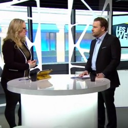 Maxime Laporte du Groupe Quorum en entrevue à V Télé