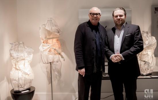 Launch of Imagin'arts with Jean-Claude Poitras at the Laval-sur-le-lac pavilion