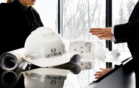 Chez Quorum, nous faisons de votre rêve notre projet