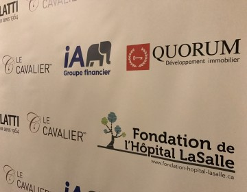 Quorum Gold Sponsor for the Black Tie bal of the Lasalle Hospital Foundation