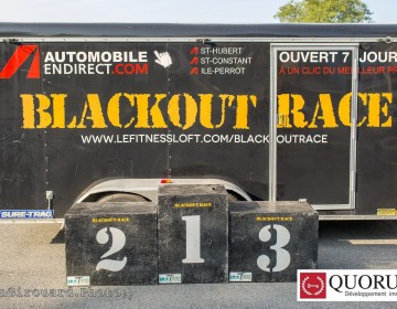 Family Challenge in Vaudreuil-Dorion – Blackout Race