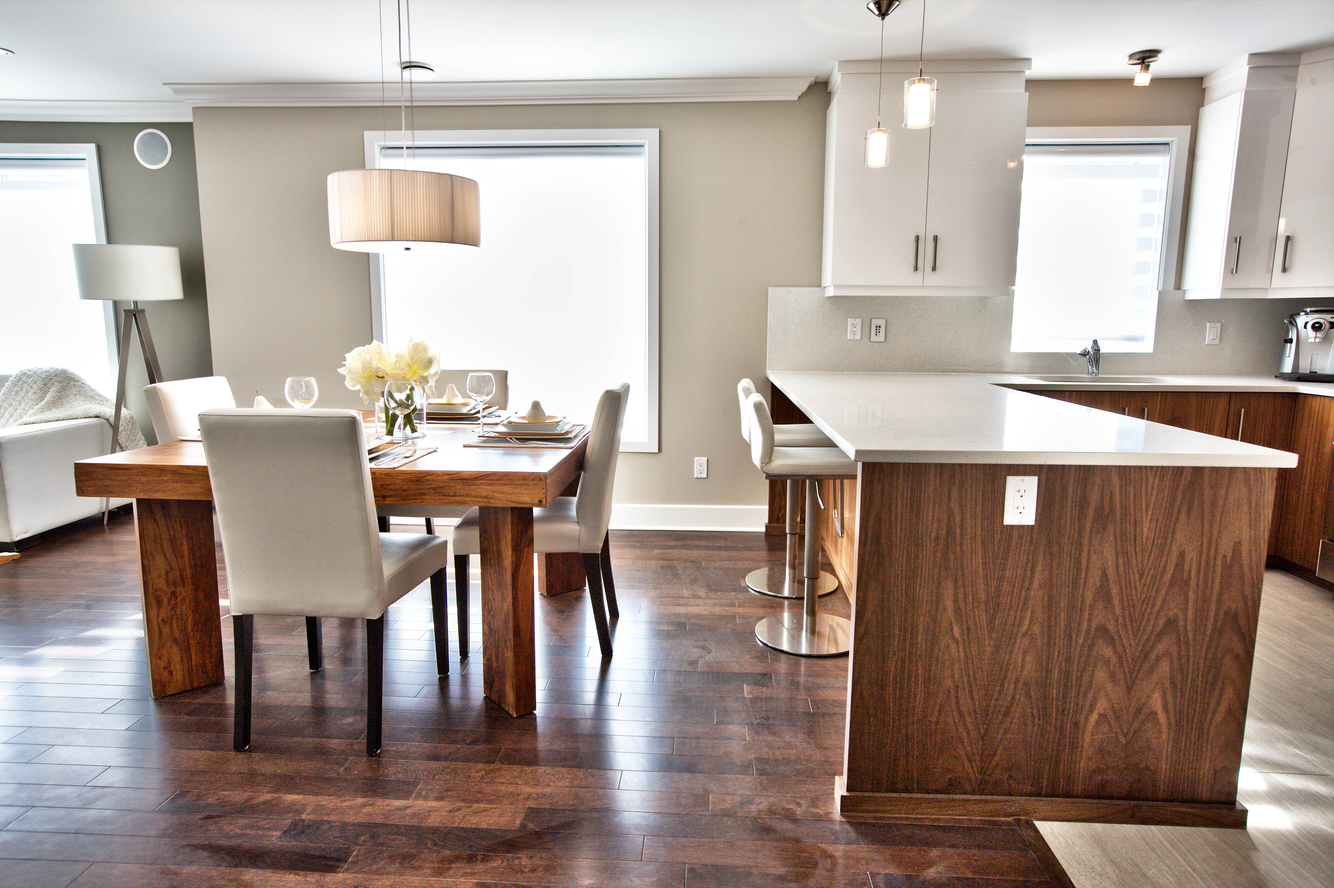 Condos Val-des-Ruisseaux Dining room