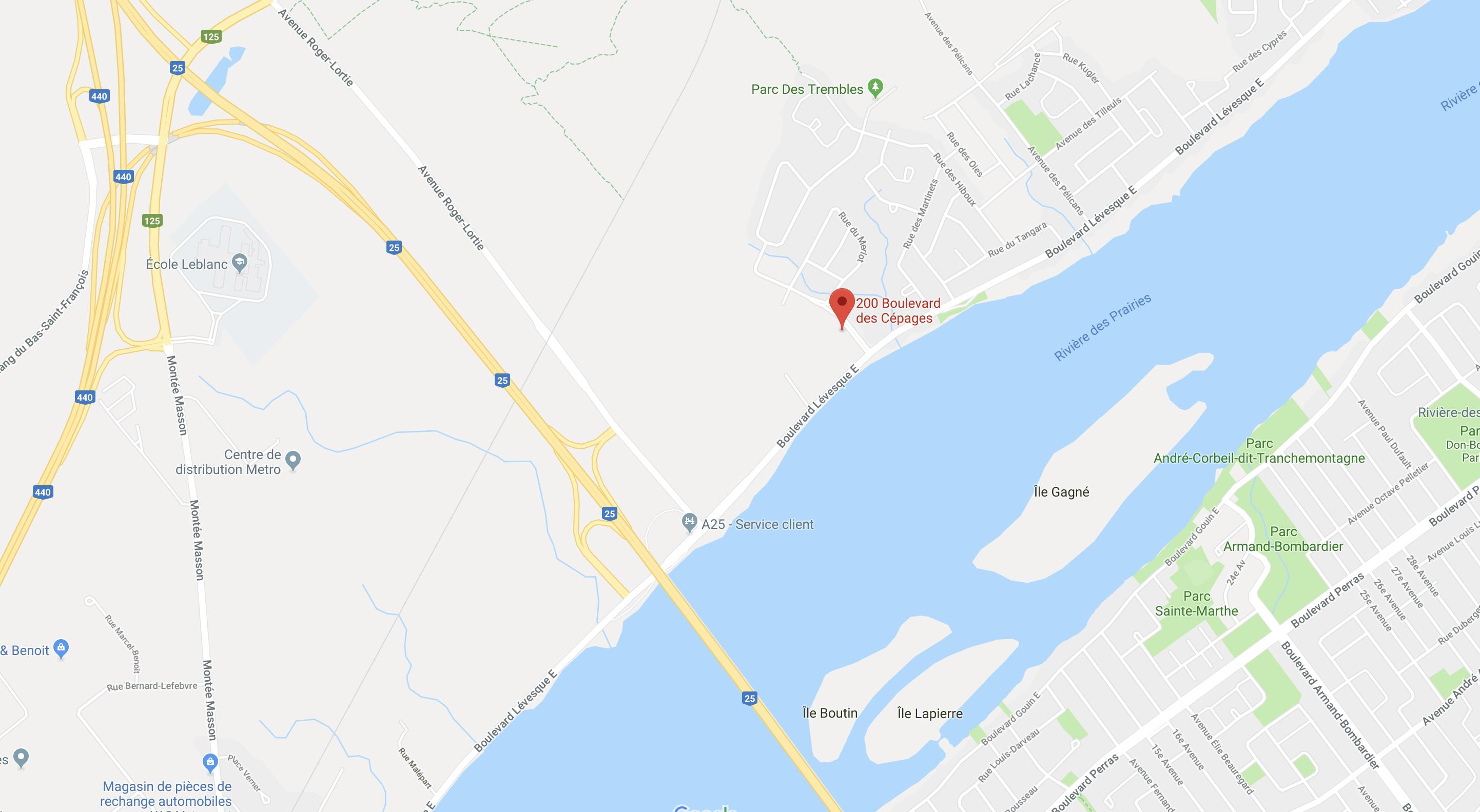 Val-des-Ruisseaux 200, boul. Lévesque Est, Duvernay Est, Laval