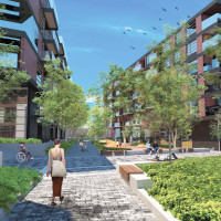A new mixed-use project is coming soon to Saint-Henri