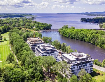 L | L sur le Lac – Aerial view summer 2019