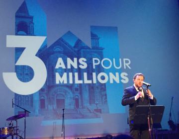 Maxime Laporte de Quorum, Président de la campagne majeure de financement de l'organisme Groupe Paradoxe